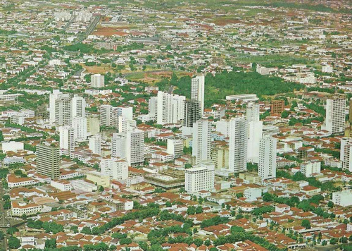 gyn-1718 - postal goiania, g o - vista aerea da cidade
