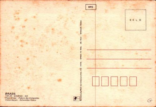 gyn-4283- postal goiania, g o- praça civica