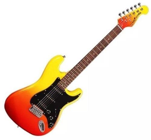 gypsy rose gre1k guitarra electrica stratocaster principiant