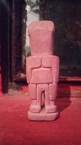 h antiguo huaco miniatura chavin amuleto dios cambio remato