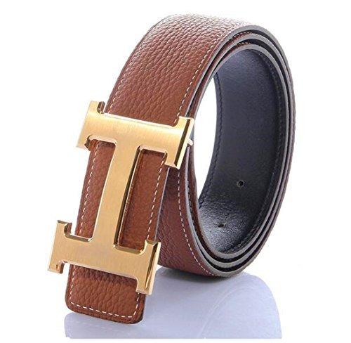 Boutique en ligne a9038 edca8 H Cinturones Para Hombres Business Casual Cinturón De Cue...