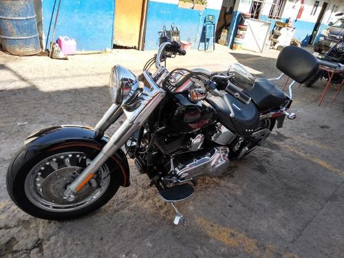 h-d softail fatboy 1600cc año 2009, 6 velocidades