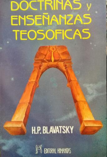 h. p. blavatsky - doctrinas y enseñanzas teosoficas.