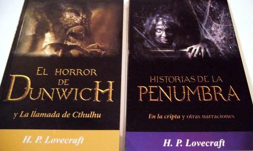 h p lovecraft paquete 7 libros envio incluido