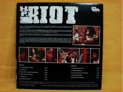 h. p. riot  h. p. riot lp vinilo funk soul