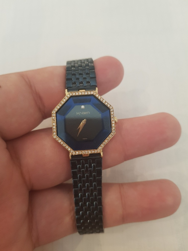 faba2a9c016 h stern safira ouro diamante. Carregando zoom.