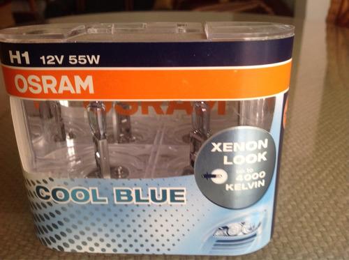 h1 cool blue blister x 2 12v 55w p14.5s