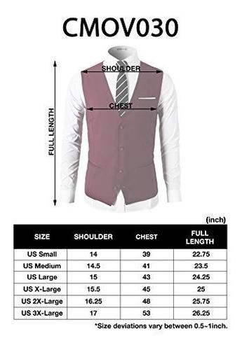 h2h mens formal slim fit premium business traje 4 chalecos d
