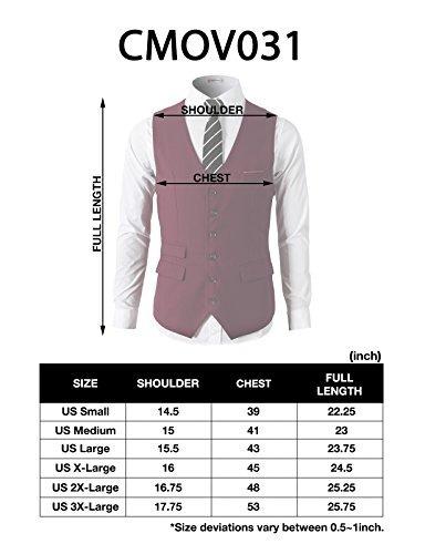 h2h mens formal slim fit traje de vestir de negocios premium