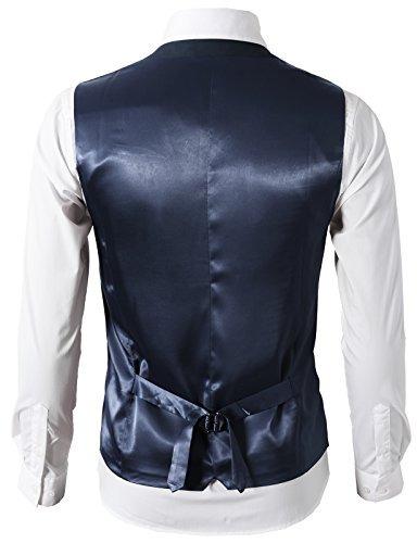 h2h mens formal slim fit traje de vestir de primera calidad