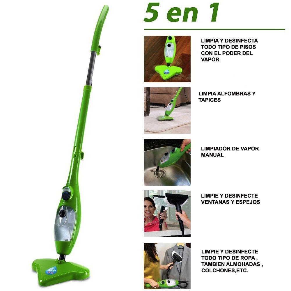 H2o mop x5 lavadora de vapor aspiradora limpieza maquina en mercado libre - Maquina de limpieza a vapor ...