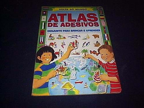 [ha] # álbum atlas de adesivos volta ao mundo #{completo}#