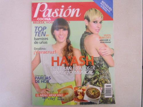 ha ash revista pasión