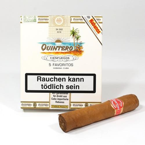 habano quintero favoritos petit robusto fumar habanos cubano