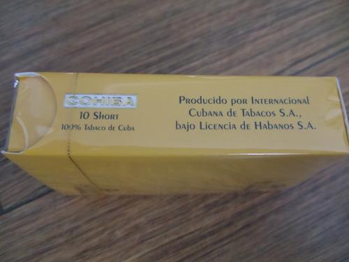 habanos 10 short cohiba