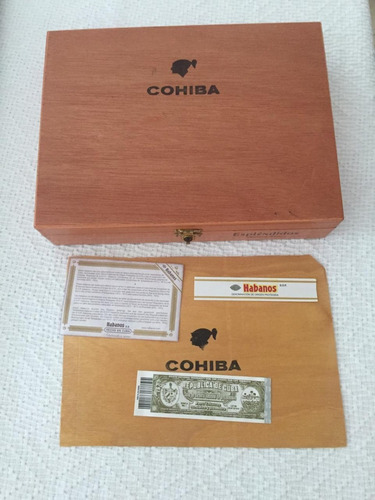 habanos cohiba esplendidos caja de 25 tabacos certificados