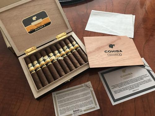 habanos cohiba secretos maduro 5 unidad 100% original cubano