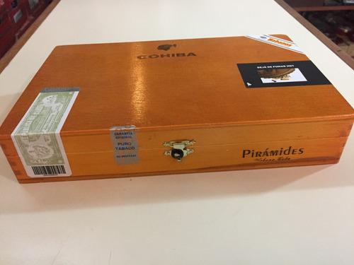 habanos cubanos cohiba pirámides caja x 25 (promo especial)