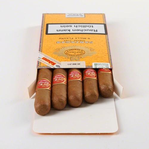habanos partagas mille fleurs cubanos fleur puros fumar x5