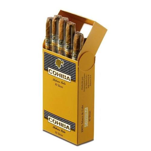 habanos puritos cohiba short caja x10 fumar cigarros cubanos