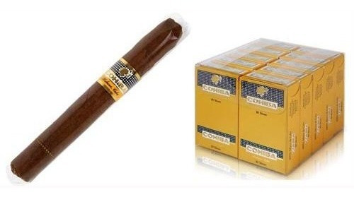 habanos puritos cohiba short fumar cigarros cubanos caja x10