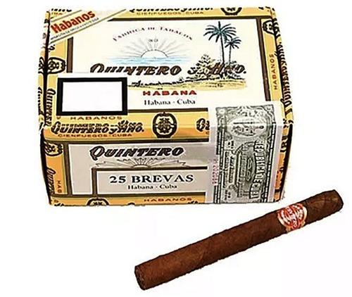 habanos quintero brevas corona caja x25 breva habano cuba