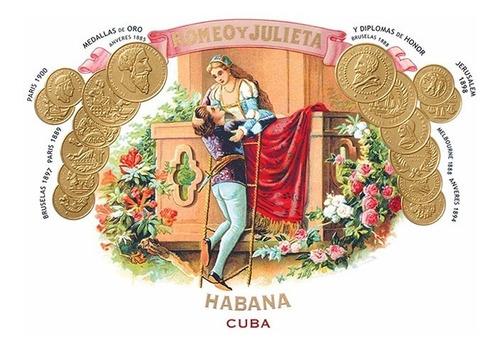 habanos romeo y julieta n2 tubos habano numero 2 cubanos
