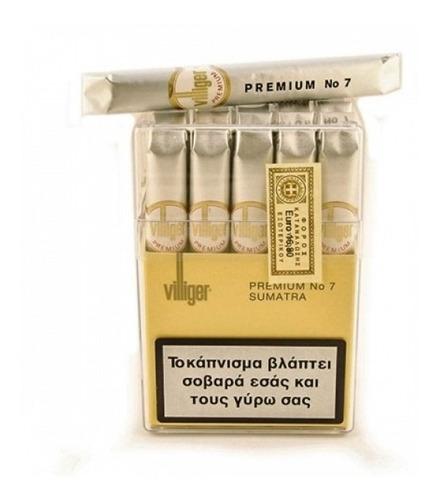 habanos villiger premium n7 7 cigarros habano x1 cigarro