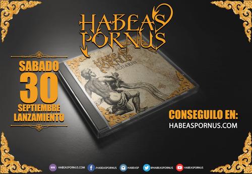 habeas pornus - acuario / cd original