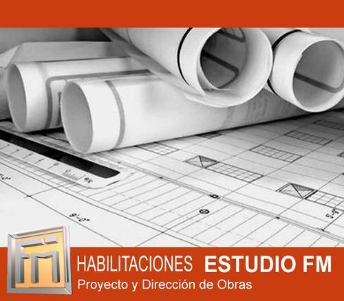 habilitaciones comerciales- ley 257/ 6116 planos municipales