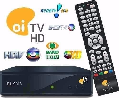 habilitação oi tv livre elsys e bedinsat c/ globo