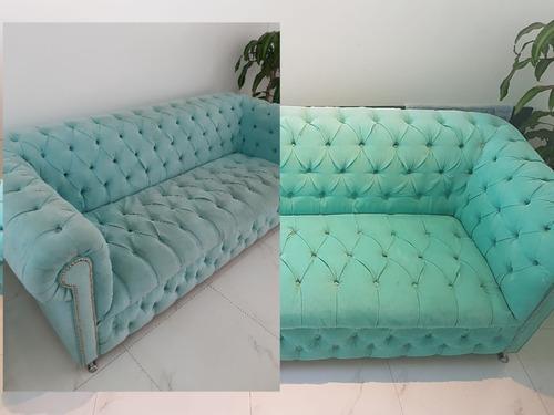 habilitado esencial desinfección limpieza alfombra  sillones