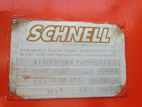habilitador de acero dobladora y cortadora de varilla schnel