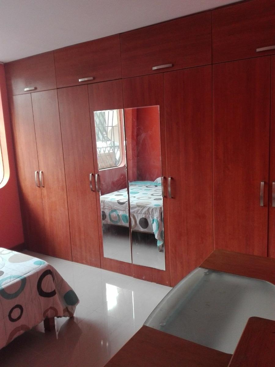 habitación independiente segura frente a parque en la molina