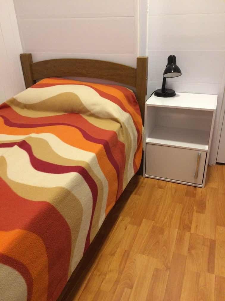 habitación individual residencia femenina cordón