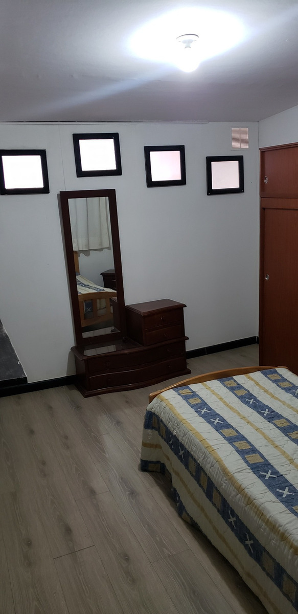 habitaciones amobladas con/sin baño en sector universitario