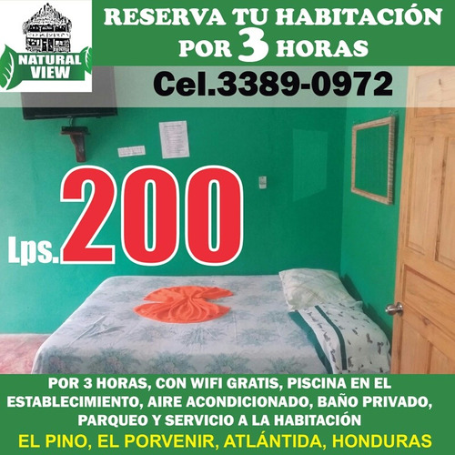 habitaciones disponibles en el parque natural view