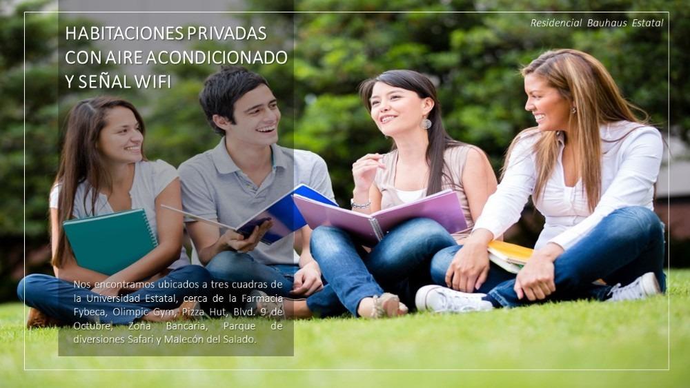 habitaciones económicas sector universidad estatal