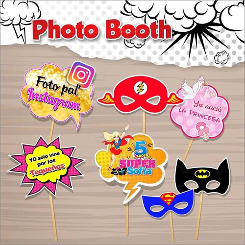 habladores carteles photo boom fiestas hora loca bodas 15año