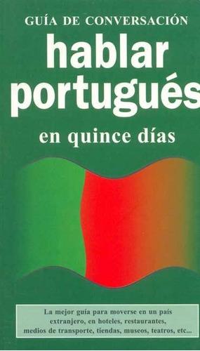 hablar portugues en quince dias - guia de conversacion