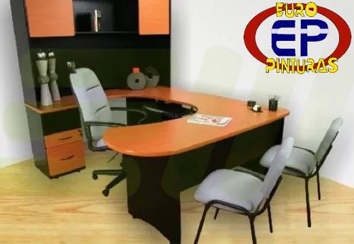 hacemos muebles de oficina, repisas flotantes