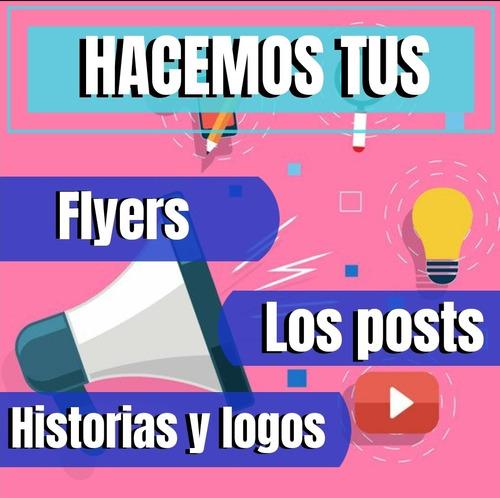 hacemos tus logos, flyers y mas