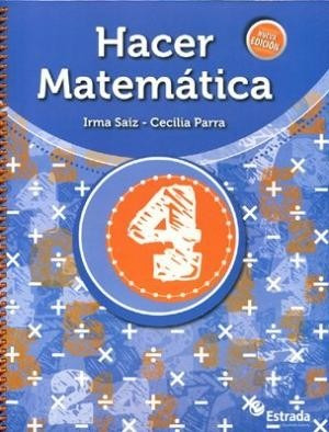 hacer matematica 4 - estrada
