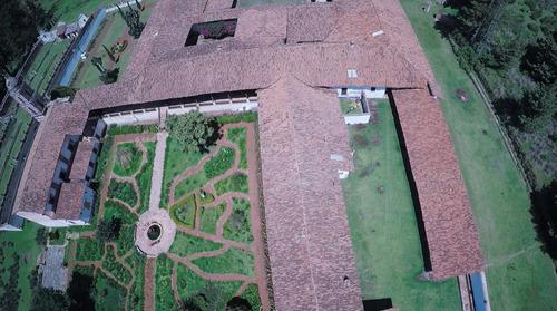 hacienda construida en el siglo xviii