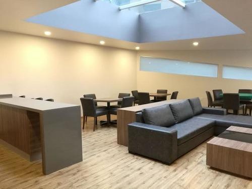 hacienda de palmas, hermoso departamento en uno de los edificios más nuevos