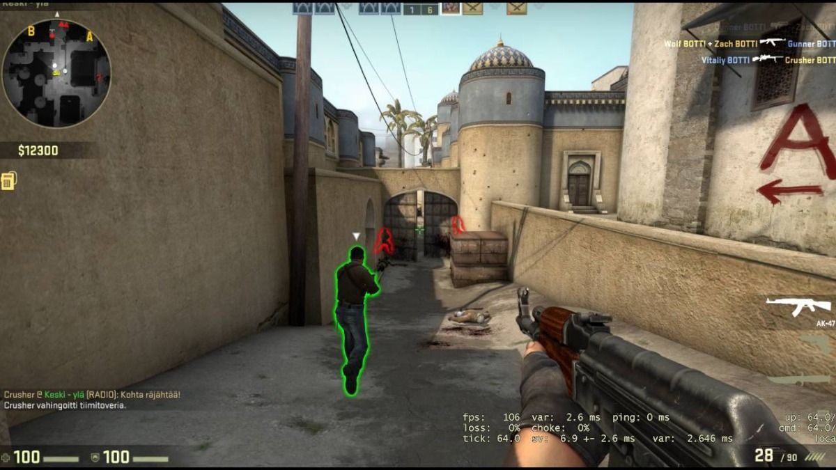 Hack Csgo (aim, Wall, Radar) - Cs Go Atualização Diária