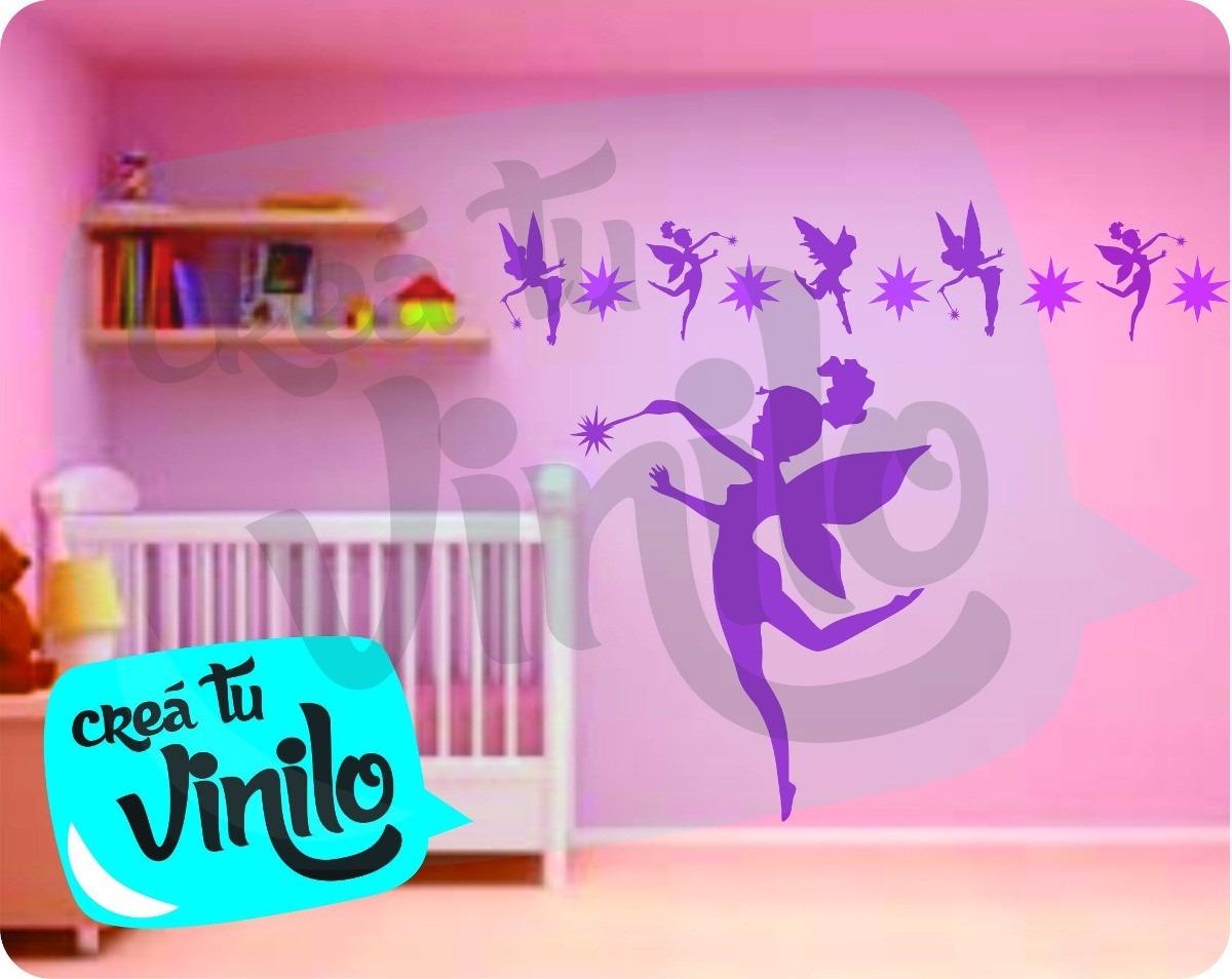 Hadas vinilo infantil ni as decoraci n casa cuarto for Cuarto menguante para tener nina