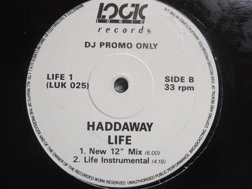 haddaway - life / 4 tracks- importado