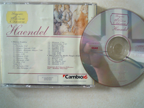 haendel cd joyas de lamusica clasica