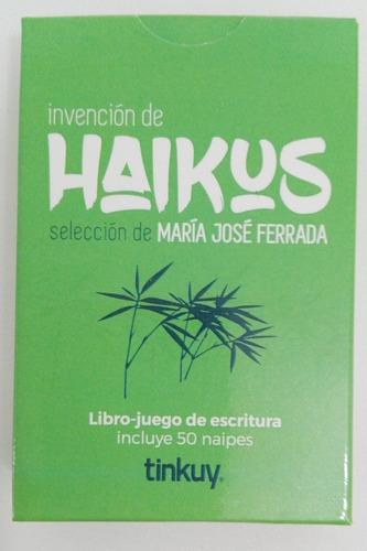haikus - libro juego de escritura 50 naipes didactikids